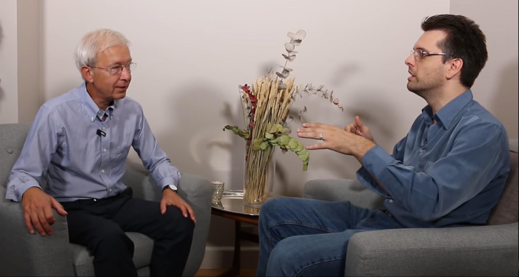 Guillaume Rouvier & Richard Détente de la chaîne Youtube Grand Angle discutent amicalement à propos du concept de Valeur marginale, de son importance pour la valorisation des actions cotées en bourse et de son impact sur les Krachs